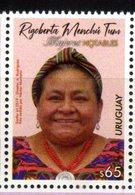 URUGUAY,2019, MNH, FAMOUS WOMEN, RIGOBERTA MENCHU, HUMAN RIGHTS, INDIGENOUS PEOPLE'S RIGHTS, 1v - Altri