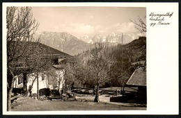 C4672 - TOP Alpengasthof Hocheck Gegen Kaiser Bei Oberaudorf - Beckert - Gaststätte - Rosenheim