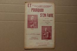 Partition : Et Pourquoi S'en Faire, Paroles Raoul Leblond Et G.Krier, Musique L.Silberman Et André Bastien - Partitions Musicales Anciennes