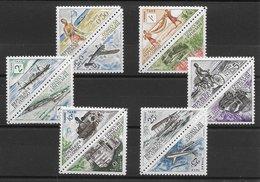 Congo Taxe N°34 à 45 Transport Courrier 1961 ** - Congo - Brazzaville