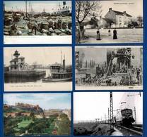 Lot De 102 CP FRANCE + ETRANGER. Etat Très Correct. Cartes Anciennes+ Quelques Semi- Modernes Ou Fantaisies. N°4 - Cartes Postales