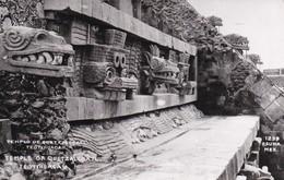 TEMPLO DE QUETZACOATL. TEOTIHUACAN. OSUNA, MEXICO. VOYAGEE 1958 - BLEUP - Messico