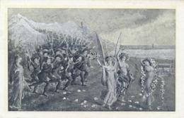 Italia Cartolina Illustrata 1911 75° Anniversario Corpo Dei Bersaglieri Immagine In Bianco/nero - Patriottiche