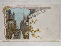 Souvenir De La Suisse. Chemin De Fer Du Brunig - BE Berne