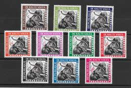Haute-Volta Taxe N°1 à 10 éléphant 1963 ** - Haute-Volta (1958-1984)