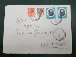 (31215) STORIA POSTALE ITALIA 1977 - 6. 1946-.. Repubblica