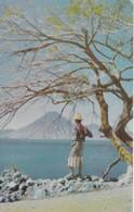 LAKE ATITLAN. GUATEMALA CA. ZADIK & CO-CPA CIRCULEE 1962 A COSTA RICA - BLEUP - Guatemala