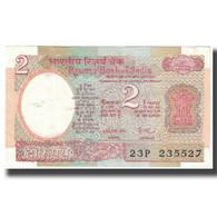 Billet, Inde, 2 Rupees, KM:79e, SPL - Inde