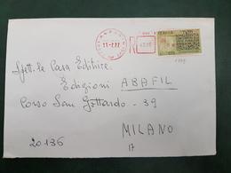 (31217) STORIA POSTALE ITALIA 1977 - 6. 1946-.. Repubblica