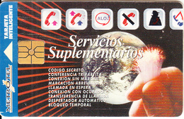 COLOMBIA - Adittional Services, Metrotel Telecard $6000, Chip GEM1.1, Used - Kolumbien