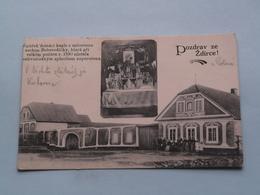 POZDRAV Ze Zdirce ! ( Edit.: ? ) 1922 ( See Photo For Detail ) ! - Tchéquie