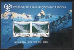 New Zealand 2009 Polar Regions Souvenir Sheet Unmounted Mint [4/3737/ND] - New Zealand