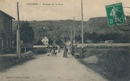 I107 - 38 - CESSIEU - Isère - Avenue De La Gare - Autres Communes