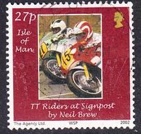 2002 Isle Of Man -  Photography Winners - Tt Riders - SG1016 Used - Isle Of Man