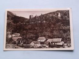 RIESENBURG Und TEILANSICHT Riesenberg Bei OSSEGG ( Edit.: E. Dengler ) 193? ( See Photo For Detail ) ! - Tchéquie