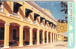 COLOMBIA - Plaza De La Aduana, Metrotel Telecard, First Issue $10000, Chip GEM2.1, Used - Colombia