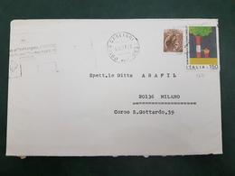 (31226) STORIA POSTALE ITALIA 1977 - 6. 1946-.. Repubblica