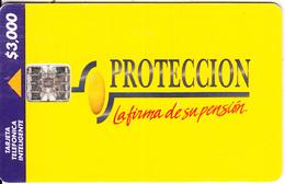 COLOMBIA - Proteccion, Telepsa Telecard $3000, Used - Colombia
