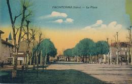 I107 - 38 - FRONTONAS - Isère - La Place - France