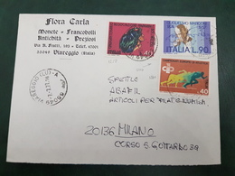 (31227) STORIA POSTALE ITALIA 1977 - 6. 1946-.. Repubblica