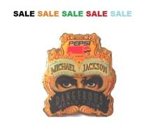 Pin Pins - MICHAEL JACKSON - DANGEROUS WORLD TOURS - PEPSI COLA - Music