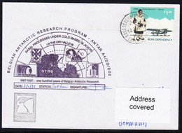 "ANTARCTIC, BELGIEN On SCOTT-Base  1998 "" Exp. ANTAR A4/DD/E02"", 2 Cachets + Sign , Look Scan !! 24.11-07 - Stamps"