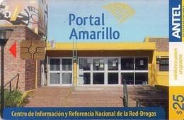TARJETA TELEFONICA DE URUGUAY, 513a (206) PORTAL AMARILLO - Uruguay