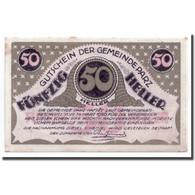Billet, Autriche, Parz, 50 Heller, Paysage, 1920, 1920-03-14, SPL, Mehl:721b - Autriche