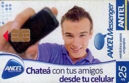 TARJETA TELEFONICA DE URUGUAY, 491a (213) CHATEA CON TUS AMIGOS - Uruguay