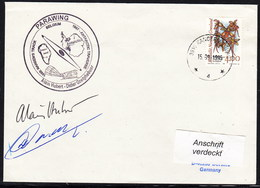 """ARCTIC, BELGIEN On NANSEN'S TRACK,1995, """"PARAWING"""", Cachet + 2 Signatures, Look Scan !! 24.11-25 - Stamps"""
