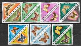 Mali Taxe N°7 à N°20 Papillons 1964 ** - Mali (1959-...)