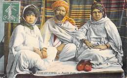 Afrique > Algérie  Scènes & Types FAMILLE ARABE   (Edition LL N°6262)*PRIX FIXE - Algérie