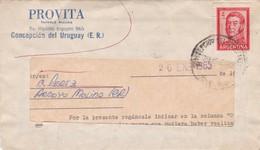 PROVITA-COMMERCIAL ENVELOPPE CIRCULEE CONCEPCION DEL URUGUAY(ENTRE RIOS) CIRCA 1950s-FULL CONTENT INSIDE - BLEUP - Argentinien