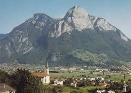 Switzerland Wangs And Sargans Postcard Unused Good Condition - Switzerland