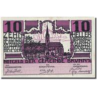 Billet, Autriche, Brunn Am Gebirge, 10 Heller, Eglise, 1920 SUP  Mehl:FS 109a - Autriche