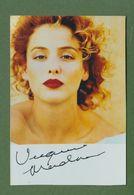VIRGINIA MADSEN Original Signed Photo AUTOGRAPHE / AUTOGRAMM  10/15 Cm - Autographes