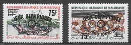 Mauritanie N°154C & 154D JO Tokyo 1962 ** - Mauritanie (1960-...)