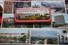 Khujand (Leninabad) 12 Pcs Lot . LONG FORMAT - Tajikistan