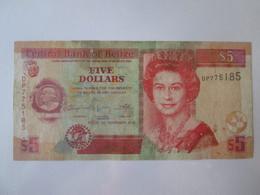 Belize 5 Dollars 2011 Banknote - Belize