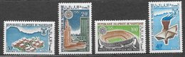 Mauritanie N°223 à 226 JO Grenoble Mexico 1967 ** - Mauritanie (1960-...)