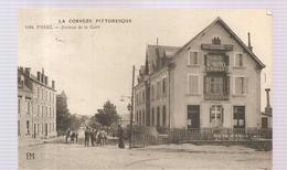 Ussel Avenue De La Gare De 1912? - Ussel