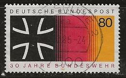 Allemagne 1985 N°Y.T. : 1098 Obl. - [7] République Fédérale