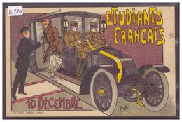 ETUDIANTS FRANCAIS EN SUISSE - AUTOMOBILE RENAULT - TB - Autres