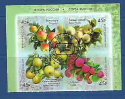 Russia  2019 Russian Apple Trees  Used CTO - 1992-.... Fédération