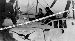 PHOTO / HYDRAVION / CAMS 54 / LA FRÉGATE / LIEUTENANT PAULIN PARIS - Luftfahrt