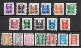 Mauritanie Service N°1 à 11 & Taxe N°27 à 33 1961 ** - Mauritanie (1960-...)