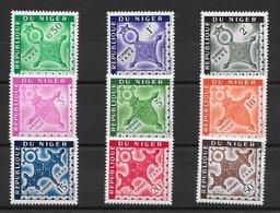 Niger Taxe N°22 à 30 1962 ** - Niger (1960-...)