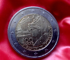 Austria 2 Euro Coin 2018 UNC 100 Years Of The Austrian Republic  Coin CIRCULATED - Autriche