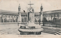 1907 Card Statue Cawnpore 1a Stamp Sg123 Sea Post Office B Cds - India