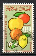 MAROC. N°509 Oblitéré De 1966. Agrumes. - Fruits
